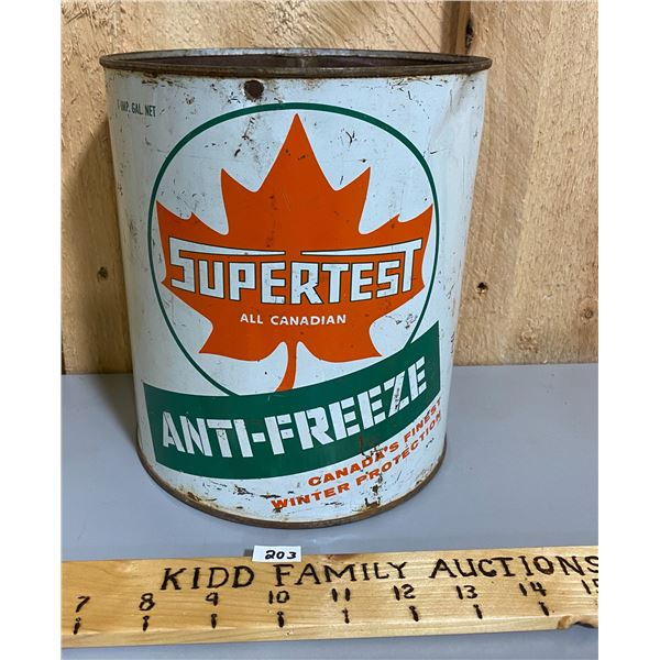 SUPERTEST ANTI-FREEZE 1 GAL CAN