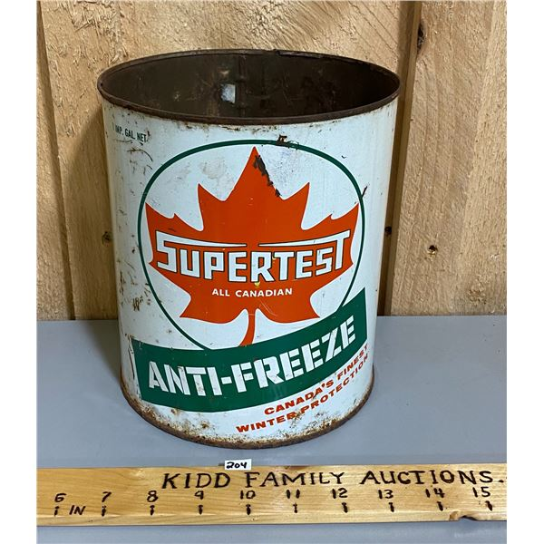 SUPERTEST ANIT-FREEZE 1 GAL CAN