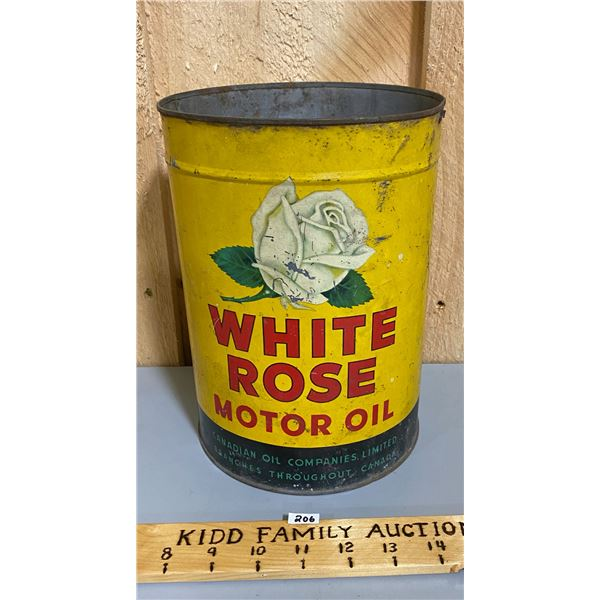 WHITE ROSE MOTOR OIL 1 GAL CAN