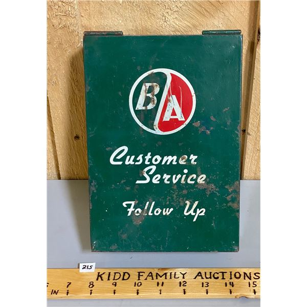 BA CUSTOMER SERVICE CARD BOX