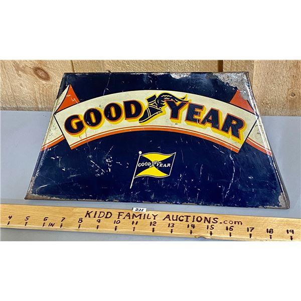 GOOD YEAR TIN TIRE HOLDER