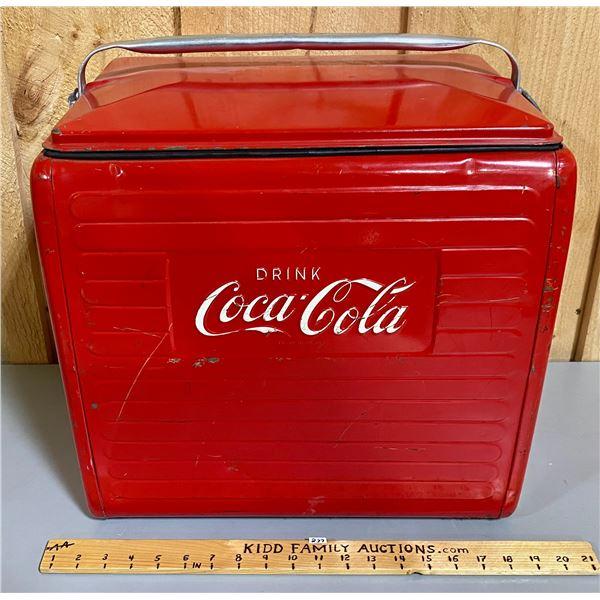 1958 COCA-COLA PICNIC COOLER
