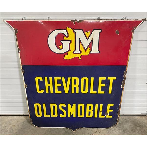 GM CHEVROLET OLDSMOBILE SSP SIGN