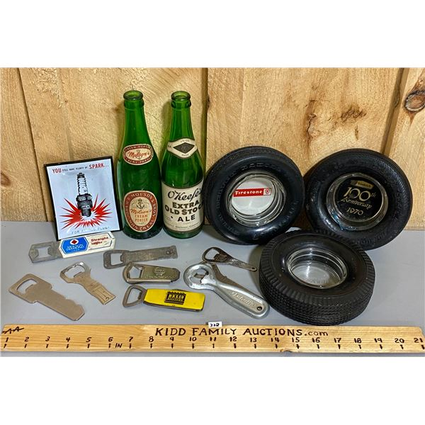 LOT OF ADVERTISING COLLECTIBLES