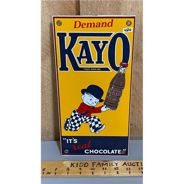 KAYO CHOCOLATE SSP REPRO SIGN