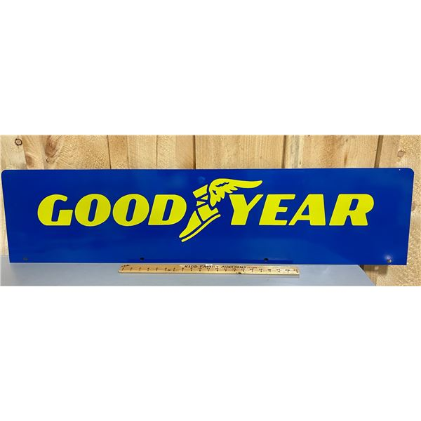 GOOD YEAR DS METAL SIGN - 4'