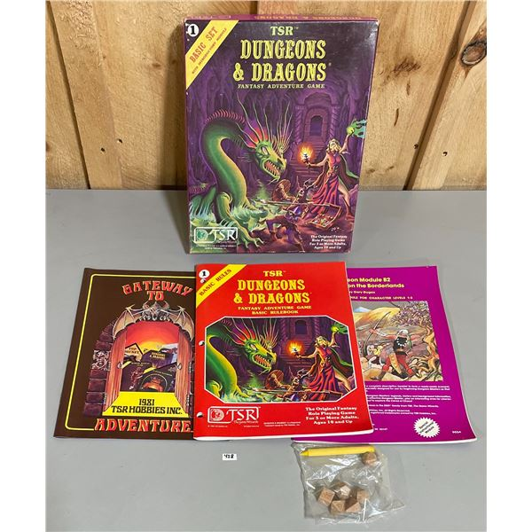DUNGEONS AND DRAGONS BASIC RULES SET #1