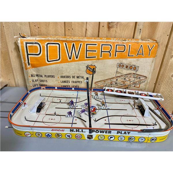 "EAGLE TOYS - VINTAGE NHL HOCKEY GAME W/ ORIG BOX - 36"""
