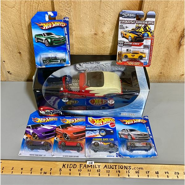 LOT OF 7 - HOT WHEELS COLLECTIBLES