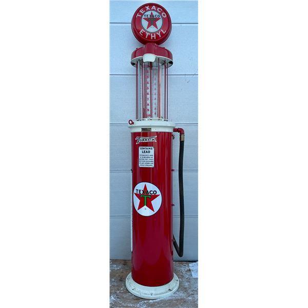 TEXACO CLEAR VISION GAS PUMP - RESTORED