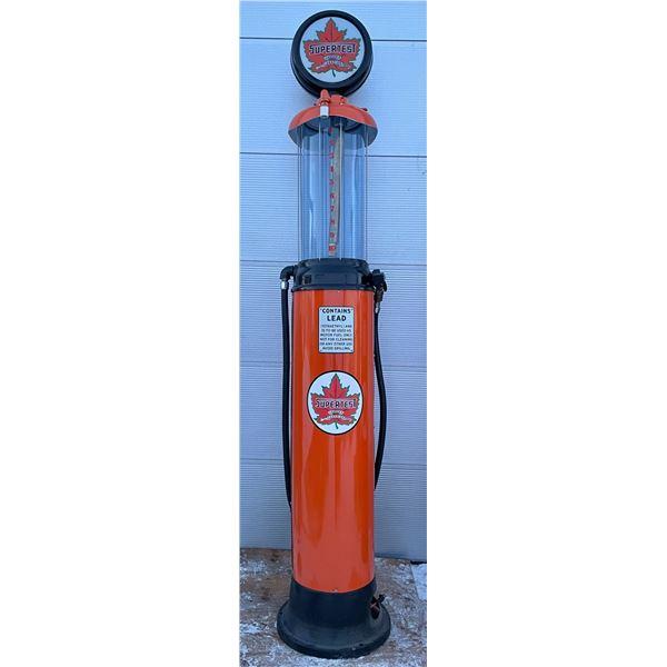SUPERTEST CLEAR VISON GAS PUMP - RESTORED