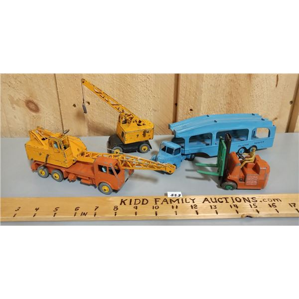 LOT OF 4 DINKY TOYS