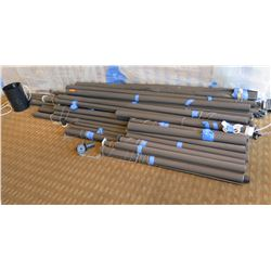 Multiple Roll Up Window Shades Misc Sizes