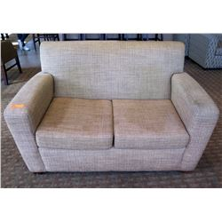 """Upholstered 2 Seat Loveseat Sofa 56""""Lx22""""Wx35""""H"""