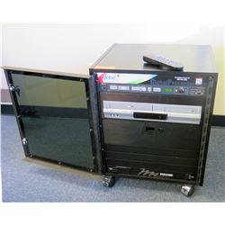 Global Presenter System w/ Extron Projector, Toshiba DVD/VHS & Power Center