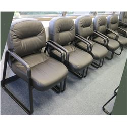 Qty 5 Stationary Armchairs
