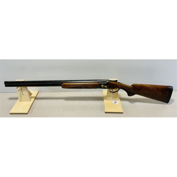 BROWNING SUPERPOSED EXHIBITION GRADE 20 GA O/U IN HARTMAN TAKEDOWN CASE