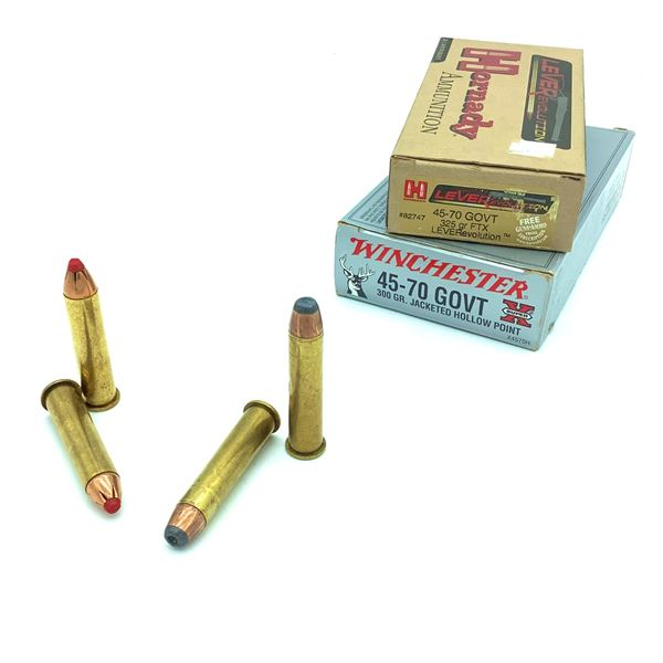 Assorted 45-70 Govt. Ammunition - 23 Rnds