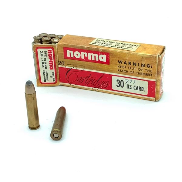 Assorted 30 Carbine Ammunition - 17 Rnds