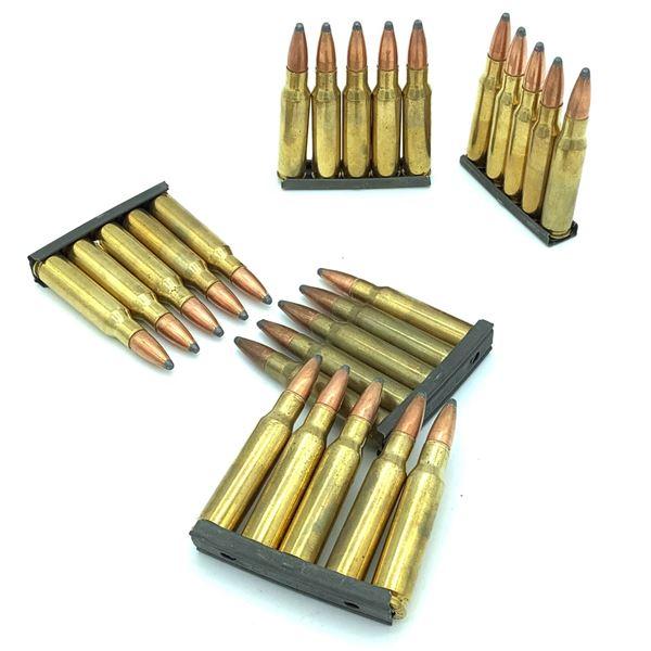 Assorted 308 Ammunition on Stripper Clips - 25 Rnds