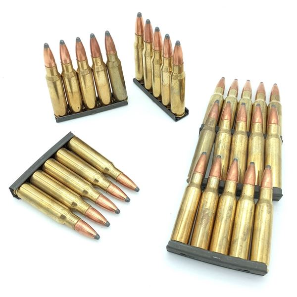 Assorted 308 Ammunition on Stripper Clips - 30 Rnds