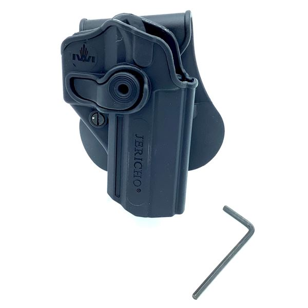 Roto/Retention Paddle Holster, Fits IWI Jericho/Baby - Eagle 9mm/.40