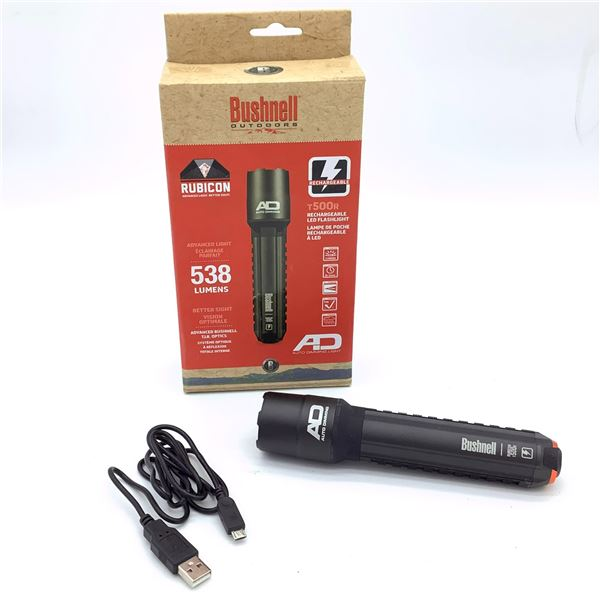Bushnell Rubicon T500R Rechargeable LED Flashlight