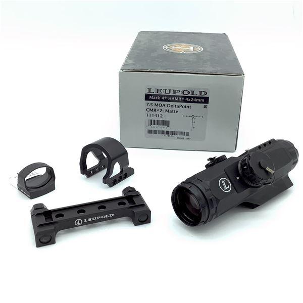 Leupold Mark 4 HAMR 4 x 24mm Sight, New