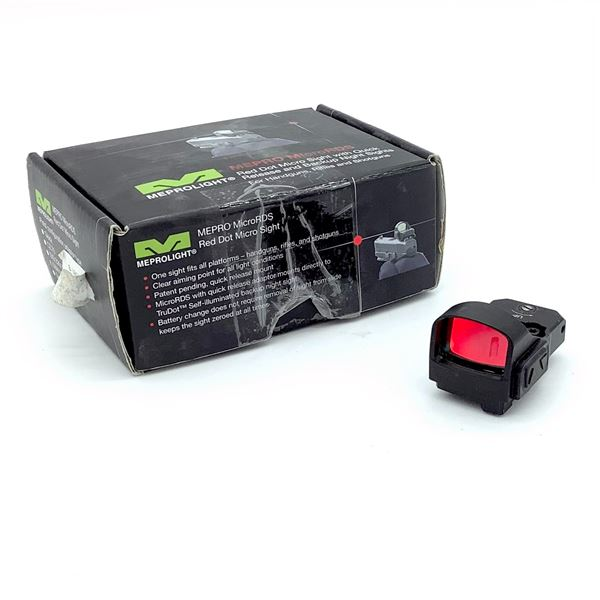 Mepro Micro ROS Red Dot Micro Sight with Quick Release & Backup Night Sights