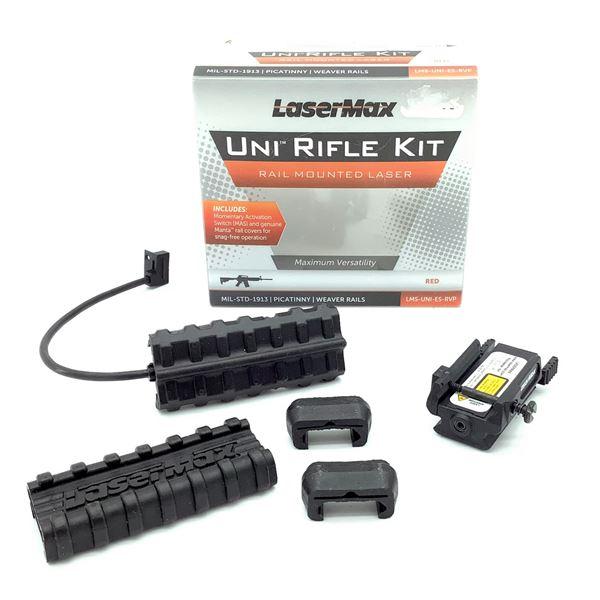 LaserMax Uni Rifle Kit, Rail Mounted Laser