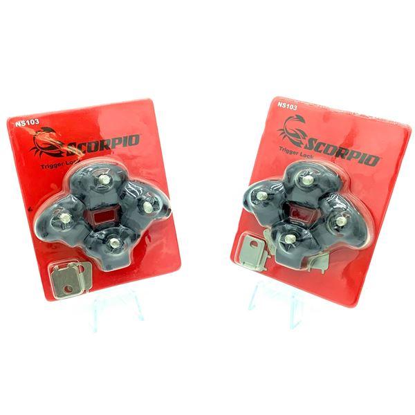 x2 Packages of Scorpio Trigger Locks