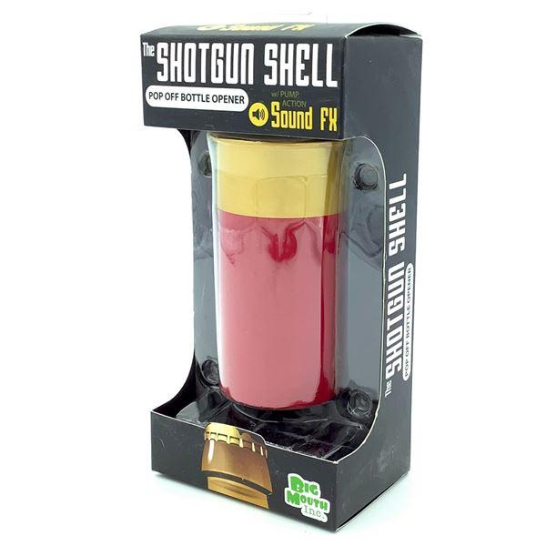 Shotgun Shell Pop Off Bottle Opener, New