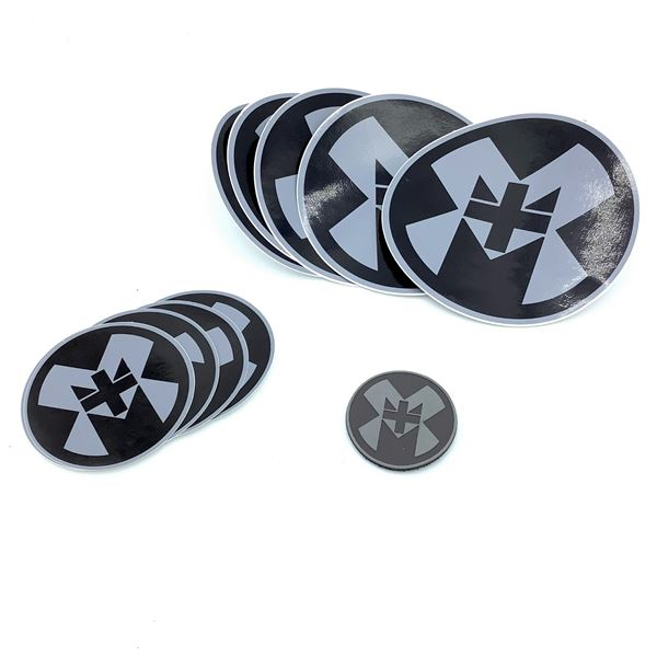M+M Industries Velcro Patch & Stickers, New