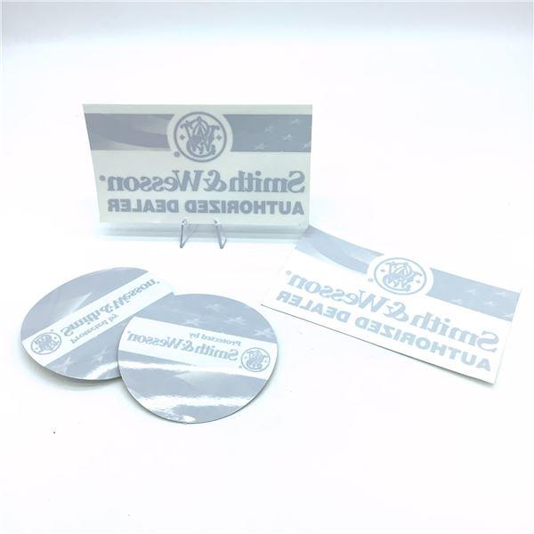 4 Smith & Wesson Window Stickers