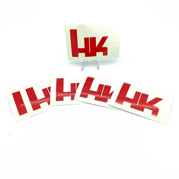 Assortment of H & K Stickers