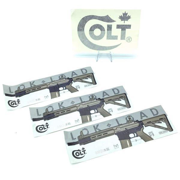 Assortment of Colt Stickers
