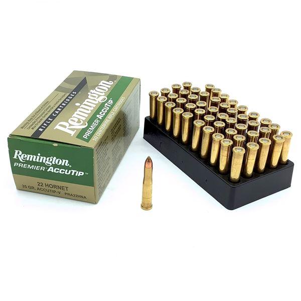 Remington Accutip 22 Hornet Ammunition - 50 Rnds