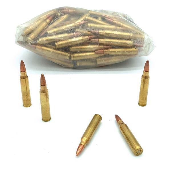 Assorted Loose 223 Rem Ammunition -128 Rnds