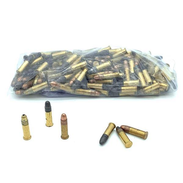 Assorted Loose 22 Ammunition - 140 Rnds