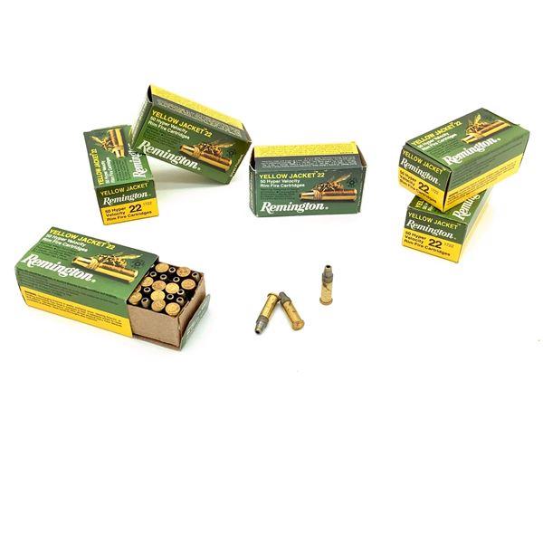 Remington Yellow Jacket 22 Rimfire Ammunition- 300 Rnds