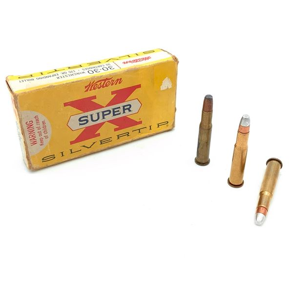 Assorted 30-30 Win Ammunition - 12 Rnds