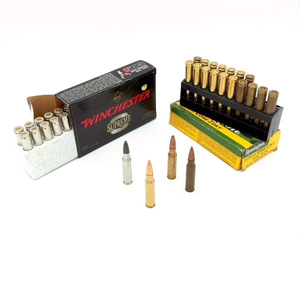 Winchester Supreme 308 &  Assorted 308 Win Ammunition - 40 Rnds