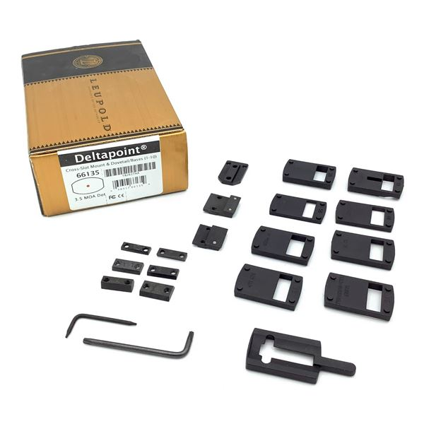 Leupold Deltapoint Cross-Slot Mounts & Dovetail Bases *Mounts Only*