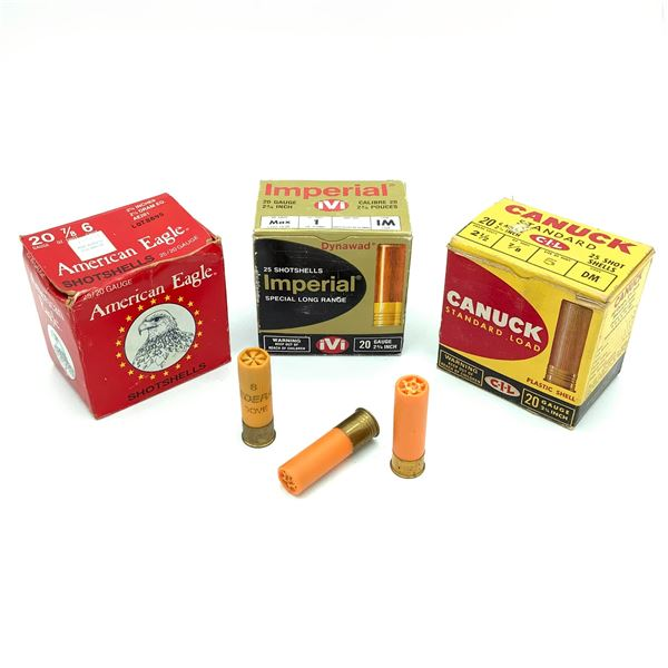 Assorted 20 Ga Ammunition - 52 Rounds