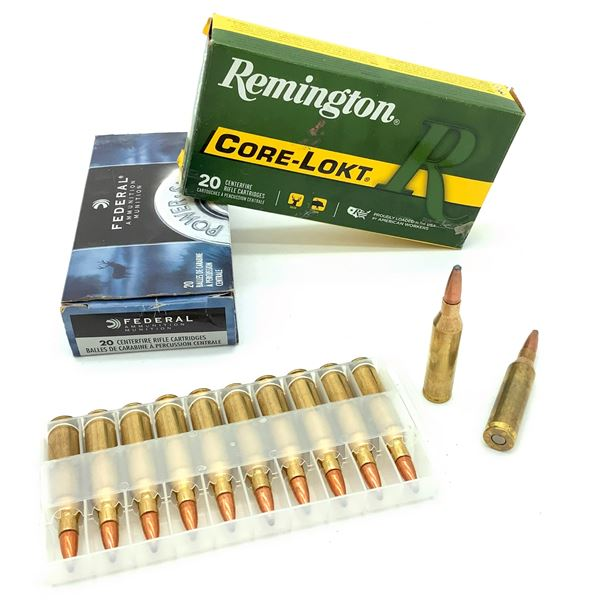 Assorted 243 Win Ammunition - 40 Rnds