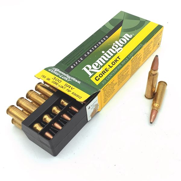 Remington 300 SAV 150gr Core-Lokt Ammunition - 20 Rnds