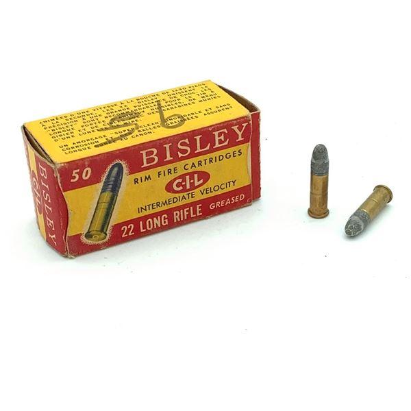 Bisley 22 LR Rimfire Ammunition - 46 Rnds
