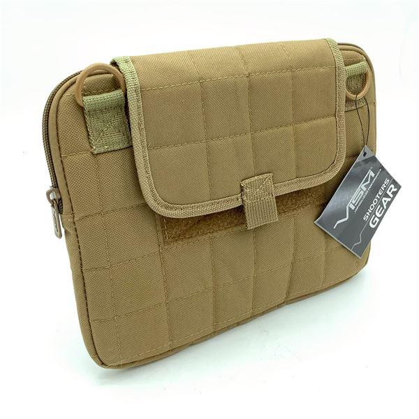 Vism Tactical Tablet Case - Tan, New