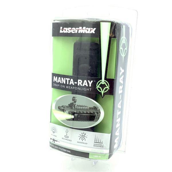 Manta-Ray Snap-on Mint Green Weapon Light, New