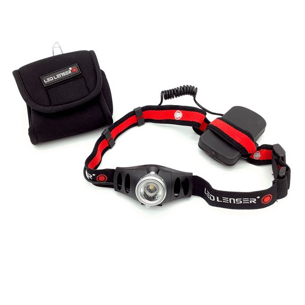 LED Lenser Head Light with Carrying Case, New